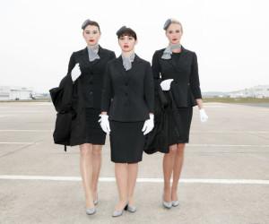 Luxaviation new cabin crew uniform