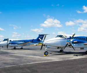Wheels Up King Air line up