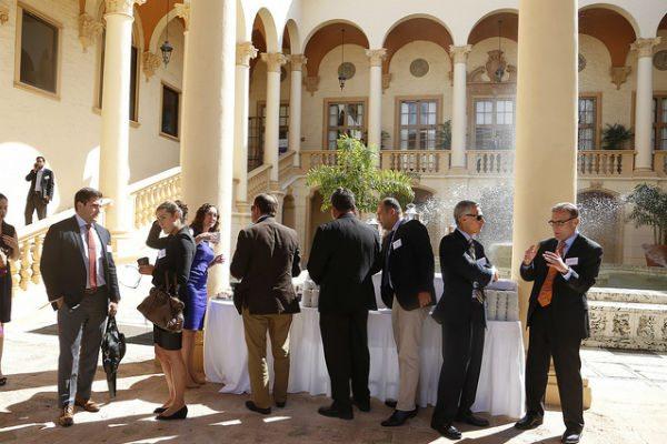 Aviation professionals congregate at Corporate Jet Investor's annual conference in Miami.