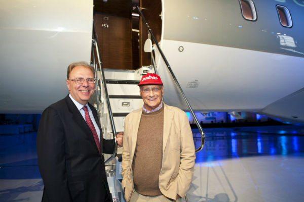 Jet Privato Niki Lauda : Niki lauda chooses jssi corporate jet investor