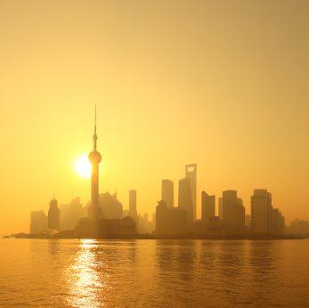Sun over shanghai