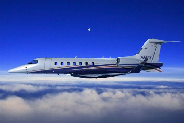 Learjet 85 flight