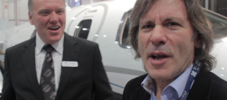 Quizzing Iron Maiden's Bruce Dickinson on the Eclipse 550