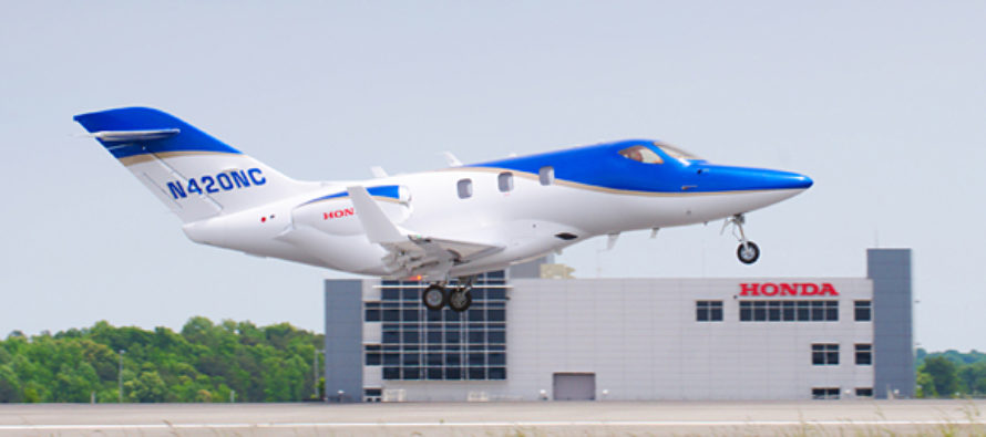 First production HondaJet debuts at Oshkosh