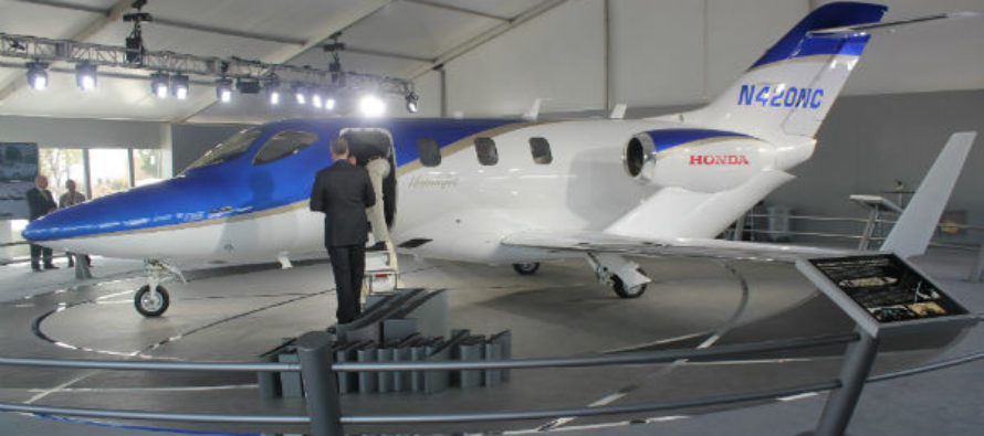HondaJet back on track for 100 aircraft each year
