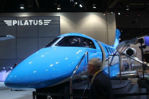 Pilatus PC-24 at NBAA 2013