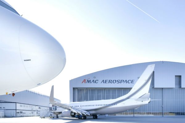 AMAC Aerospace re-delivers a VIP Boeing Business Jet