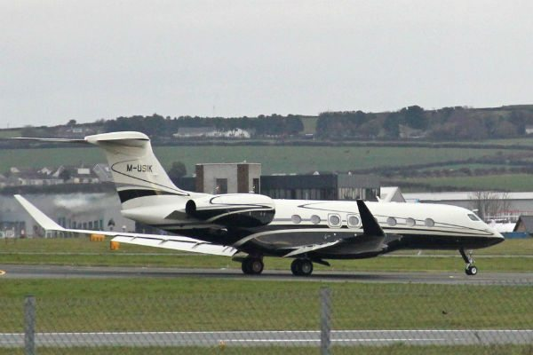 The second of seven G650 deliveries in November 2013.