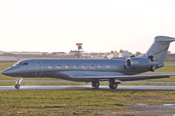 Gulfstream G650 (Photo: Alex Henthorn).