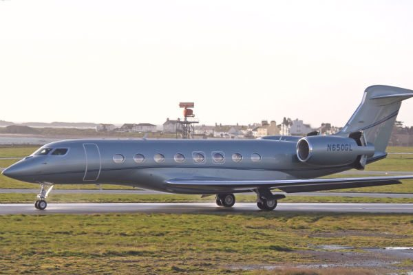 Gulfstream G650 (Photo: Alex Henthorn).