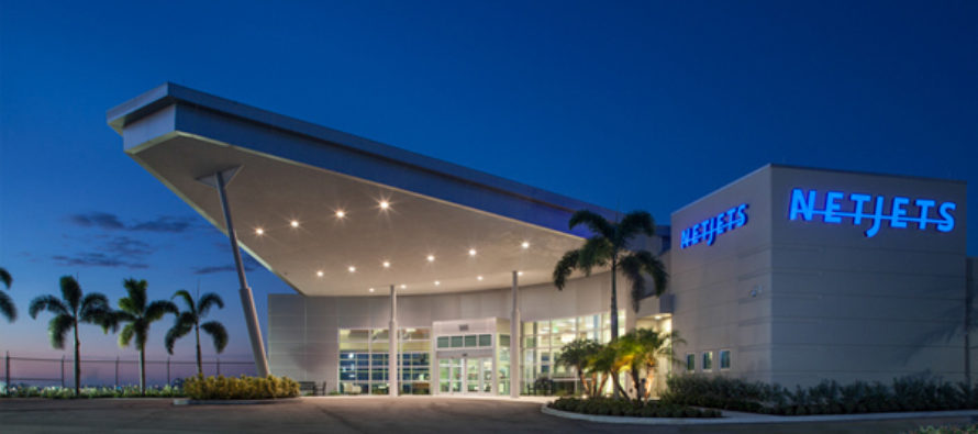 NetJets opens exclusive use terminal at Palm Beach