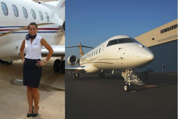 World leaders and fine wine: the life of a corporate flight ...