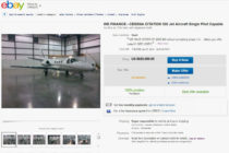Buying private jets on eBay