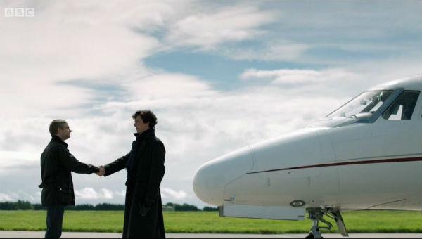 Sherlock private jet 1