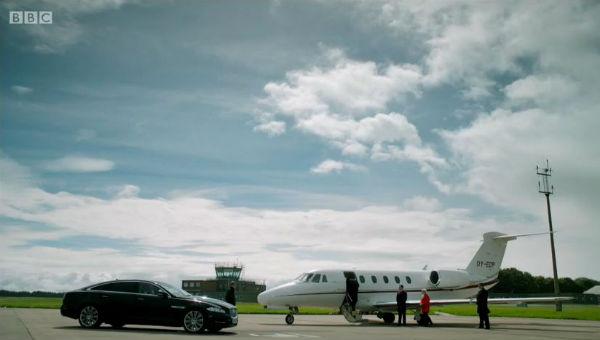 Sherlock private jet 2