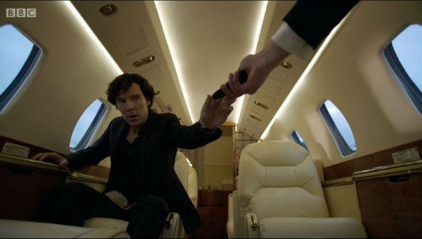 Sherlock private jet 4