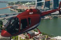 Bell 505 Jet Ranger X mock-up at EBACE