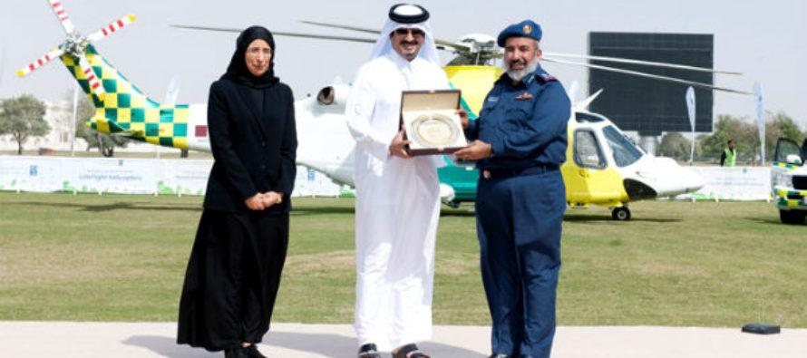 Hamad Medical launches AW139 air ambulance fleet