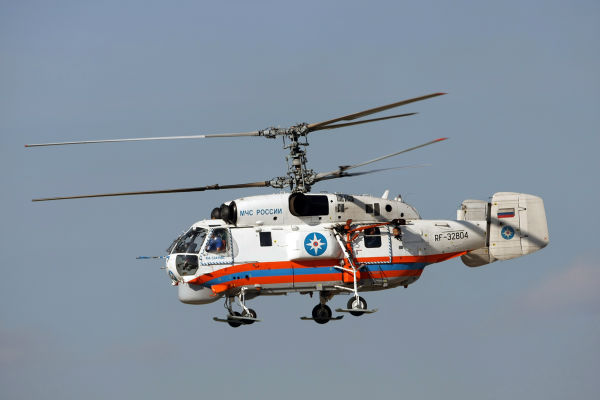 Russian Helicopters Ka-32BC at the Winter Olympic Games in Sochi