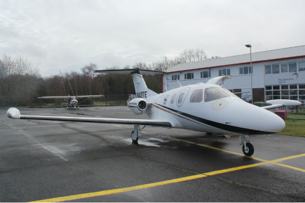 Total Eclipse business jet