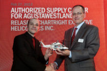 AgustaWestland and Chartright Executive Helicopters sign agreement