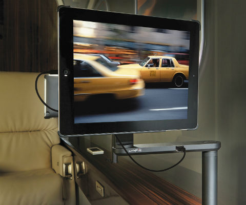 Rockwell Collins new personal tablet mount