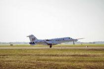 Learjet 85 makes first flight from Wichita