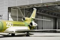 Dassault Aviation rolls out the 250th Falcon 7X