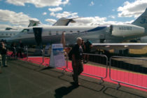 Bombardier Challenger 350 makes LABACE debut