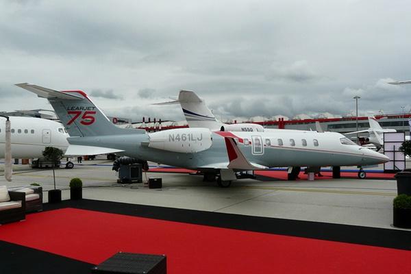 Bombardier Learjet 75 (Photo: Alud Davies)