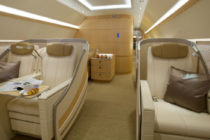 Comlux America completes two VIP cabins for Asia