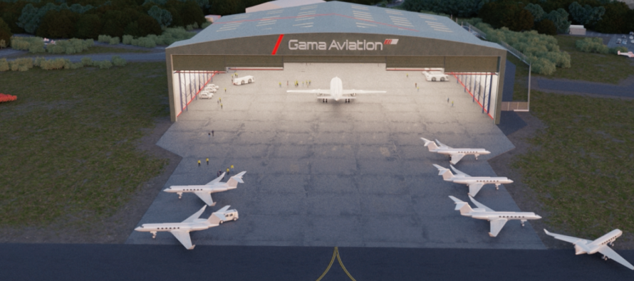Gama Aviation lowers profit forecast for 2018