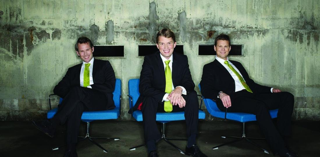 Avinode founders: Niklas Berg, Per Marthinsson and Niclas Wennerholm