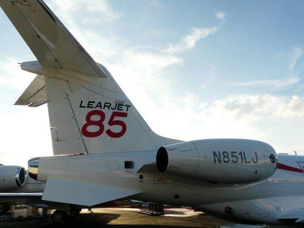 LearJet85 programme delayedl