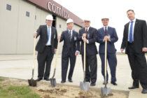 Comlux America breaks ground on new hangar