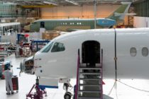 Falcon 5X set for June 2 roll out