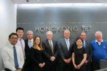 Jon Martin – the reluctant CEO – leaves Hongkong Jet to Denzil White