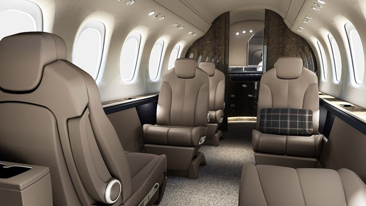Citation Latitude cabin (Image: Cessna)