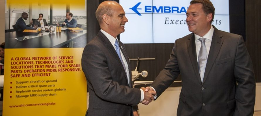 Embraer partners with DHL for global logistics