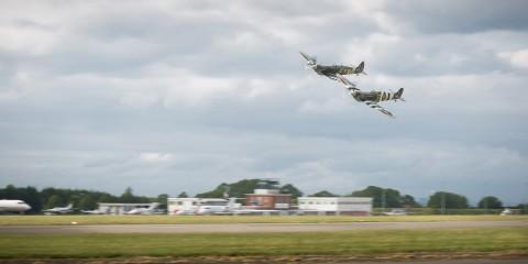 Spitfires over London Biggin Hill Airport