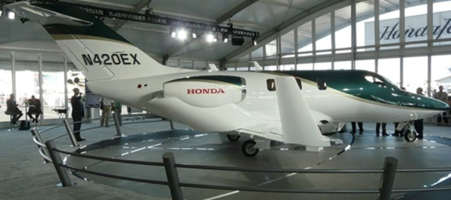 HondaJet delivery tracker