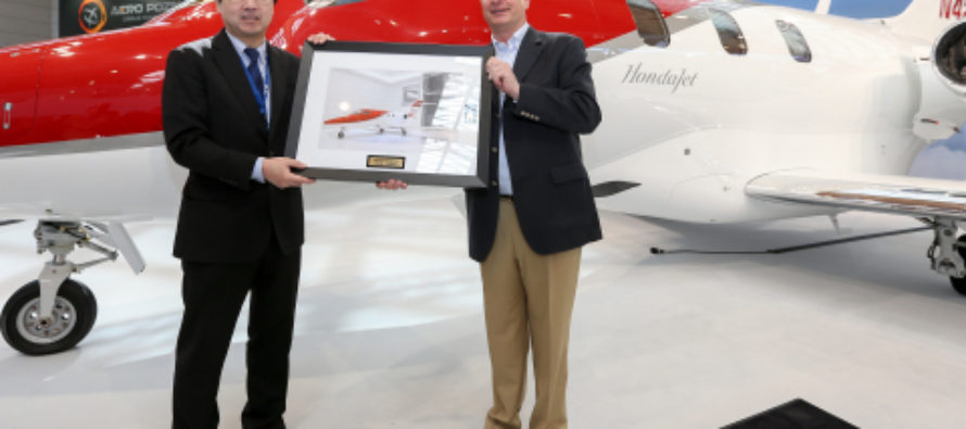 HondaJet enters European market with first aircraft delivery