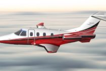 ONE Aviation flies Project Canada wing on Eclipse 500