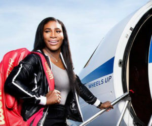 serena williams private jet wimbledon tennis wheels up