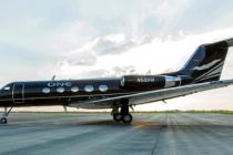 Greenpoint paints Gulfstream GIII for ONEflight