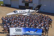 Cessna delivers 5,000th Citation