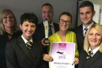 Weston Aviation wins BACA award