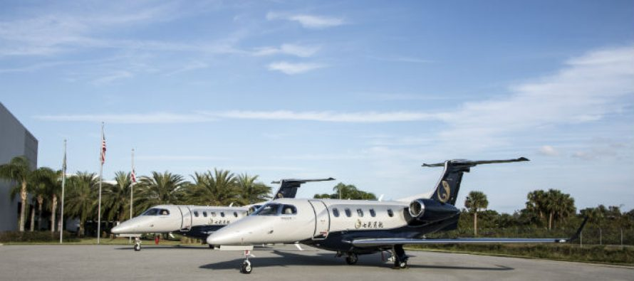 Colorful Yunnan General Aviation takes delivery of two Phenom 300s