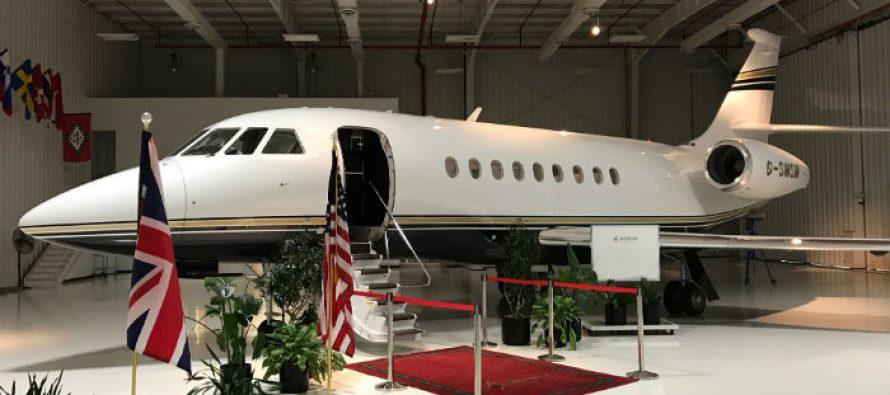 Falcon 2000LXS joins Luxaviation UK charter fleet