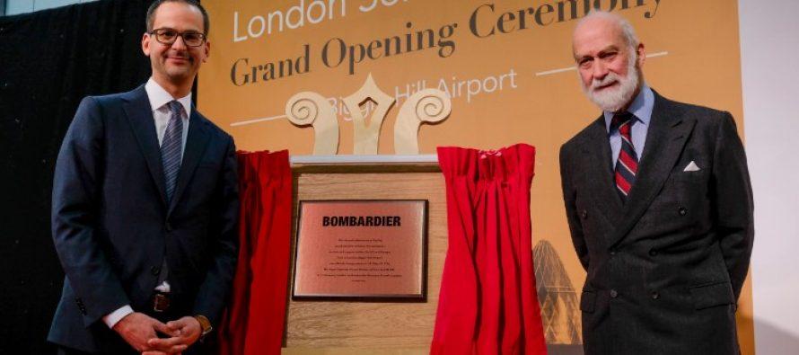 Bombardier opens Biggin Hill service centre